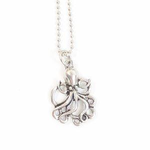 Mini Octopus Pendant  Necklace NWT